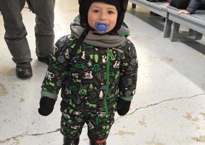 Notre plus jeune skieur